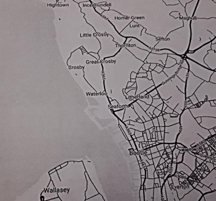 Map Crosby