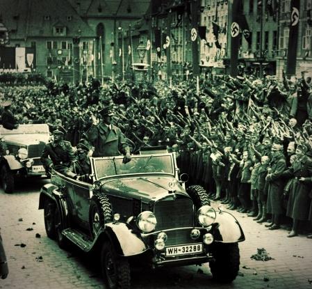 Sudetenland+Hitler