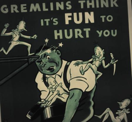 1940 Gremlins Poster